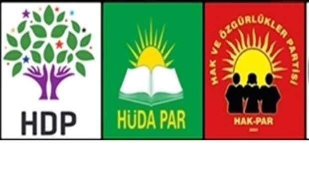 Hak-Par ve Hüda-Par'dan HDP ile ittifak açıklaması