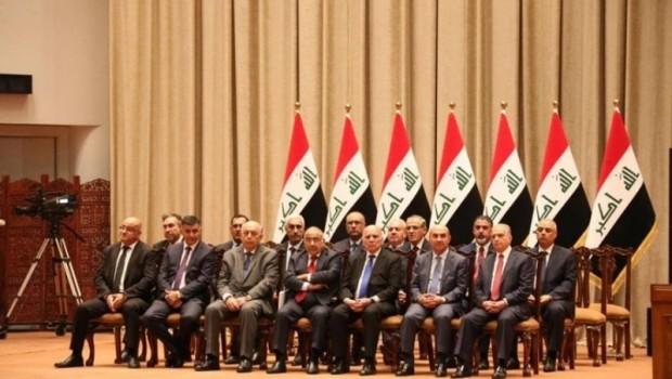Irak Parlamentosu 14 bakanı onayladı