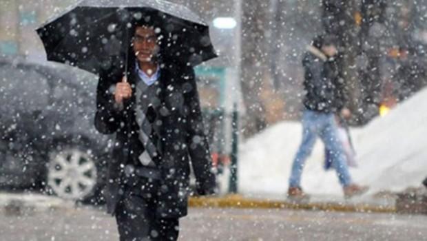 5 Kürt şehri için sağanak ve kar uyarısı