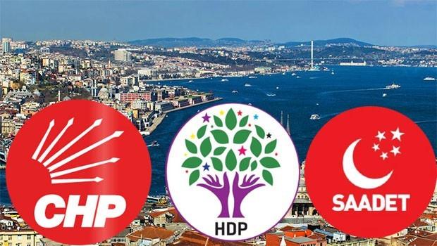 CHP'nin İstanbul ismine HDP ve SP de sıcak bakıyor