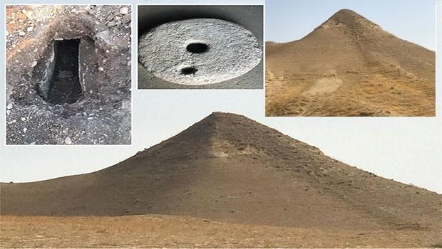 Kürt ilinde heyecanlandıran buluş... Piramit olabilir mi?
