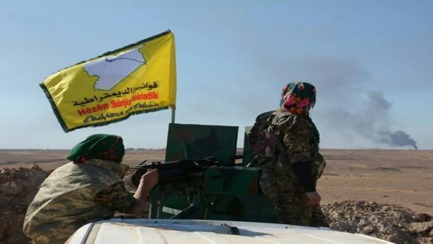 TSK: Fırat'ın doğusunda YPG mevzileri bombalandı