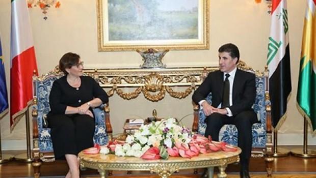 İtalya'dan Kürdistan'a tam destek