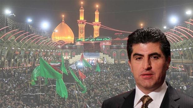 Başbakan Barzani: İmam Hüseyin sabır ve kararlılık sembolüdür