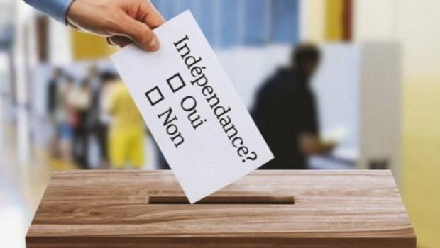 275 bin nüfuslu özerk bölge'de Bağımsızlık referandumu