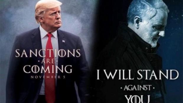 Süleymani'den Trump'ın görseline yanıt