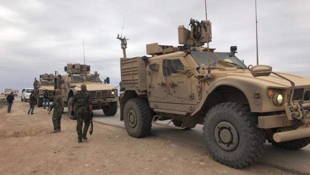 AFP: ABD askerleri Rojava sınırında  devriye yaptı