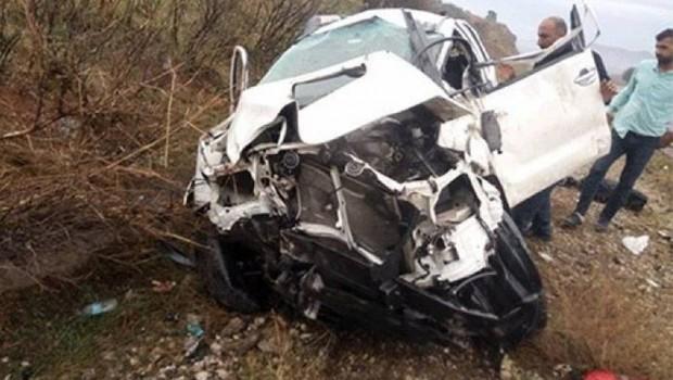 Rudaw ekibi kaza yaptı