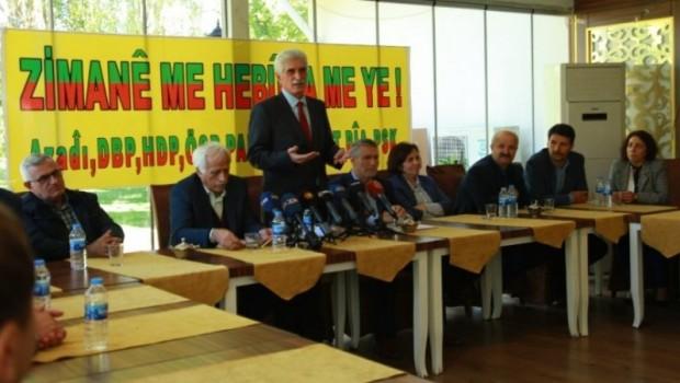 9 Kürt partisinin Kürtçe yol haritası belli oldu