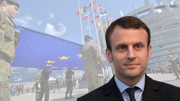 Macron'dan tartışılacak teklif: Avrupa ordusu