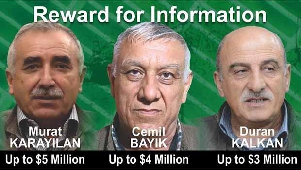 ABD, neden PKK'li liderlerin başına ödül koydu?