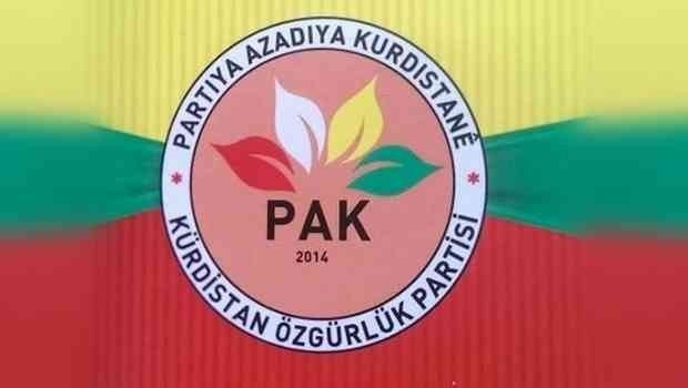 PAK: Kürt sorununda siyasi çözüm için Amerika etkili bir siyaset yürütmeli