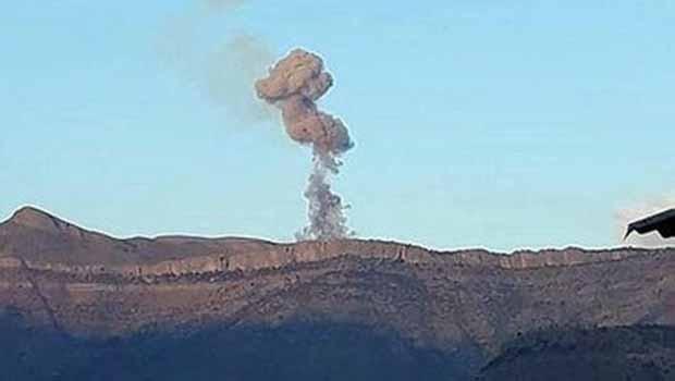 Şemdinli'de karakolda patlama!.
