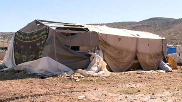 Şengal'e dönemeyen binlerce Ezidi bu kışı da çadırda geçirecek