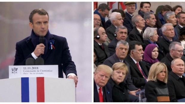 Macron'dan dünyaya çağrı