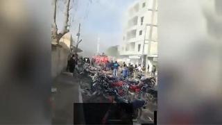 Cerablus'ta bomba yüklü araç patlatıldı