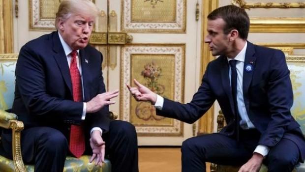 Trump ve Macron arasında ipler geriliyor