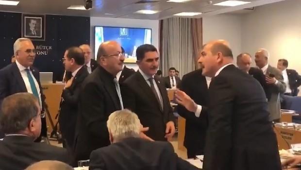Bütçe Komisyonu'nda HDP'liler ile Soylu arasında Efrin tartışması