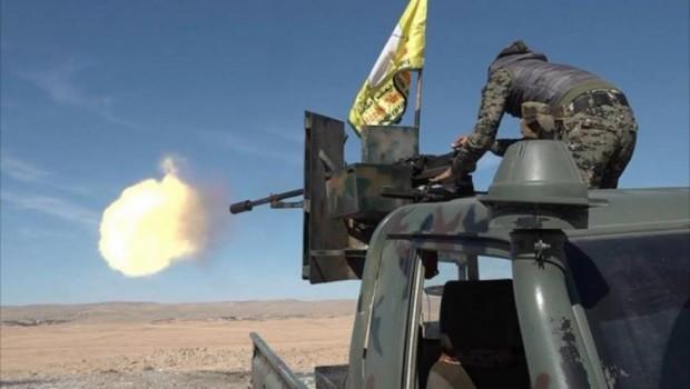 DSG ile Suriye ordusu arasında çatışma