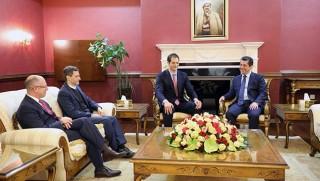 Mesrur Barzani: Kürdistani bölgeler de çözüme kavuşmalı