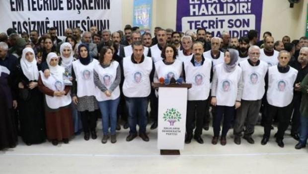 HDP'liler  açlık grevini bitirdi