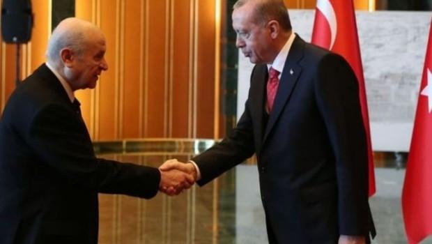 Ak Parti-MHP ittifakında yeni gelişme