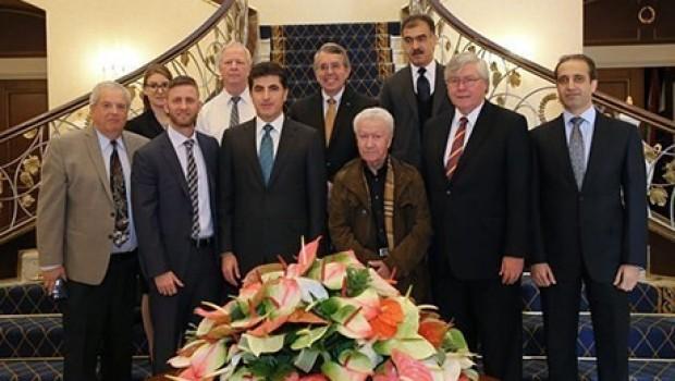 Başbakan Barzani'den GSMSG heyetine: Projelerinizi destekleyeceğiz