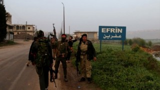 Efrin'de şiddetli çatışmalar... Çok sayıda ölü var!