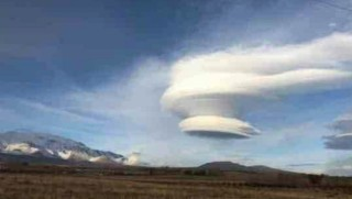 Bitlis'te sıradışı bulut tabakası görenleri şaşırttı