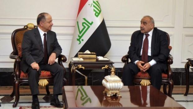 Bağdat'taki kritik görüşme... Başkan Barzani'den önemli mesajlar!