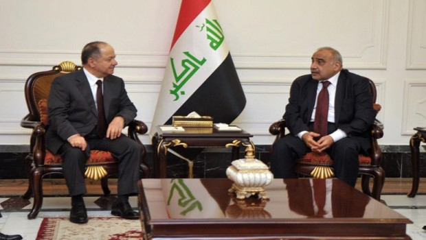Başkan Barzani'den Abdulmehdi'ye: Destek vereceğiz!