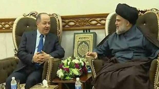Başkan Barzani, Sadr ile görüştü
