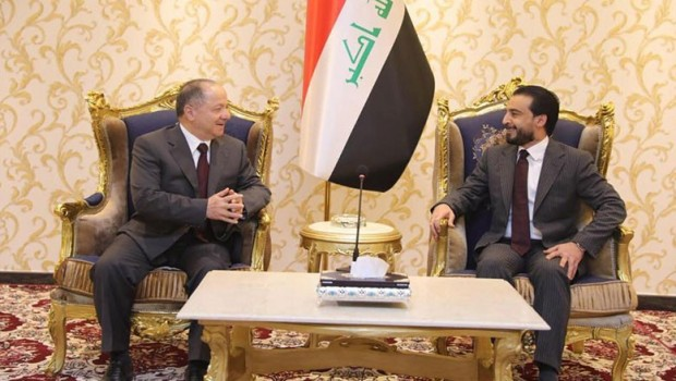 Halbusi ile görüşen Başkan Barzani: Uygun yasaları destekliyoruz