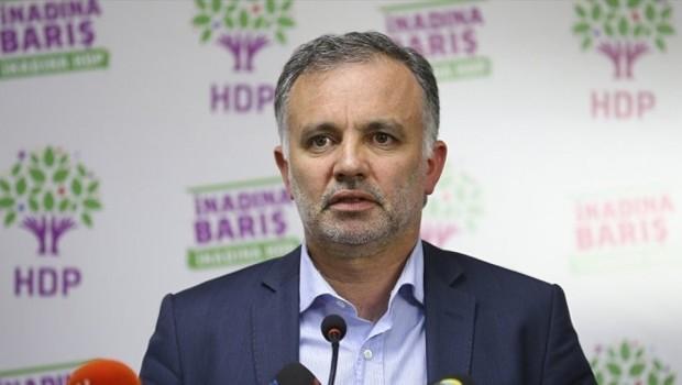 HDP'den Ayhan Bilgen'e ret!