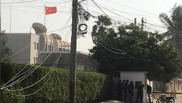 Pakistan'da Çin Konsolosluğu'na saldırı: Olayı Belucistan Kurtuluş Ordusu üstlendi