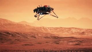 Mars'a iniş yapan InSigh ilk net görüntüyü gönderdi