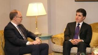 Başbakan Barzani, ABD Büyükelçisi ile görüştü