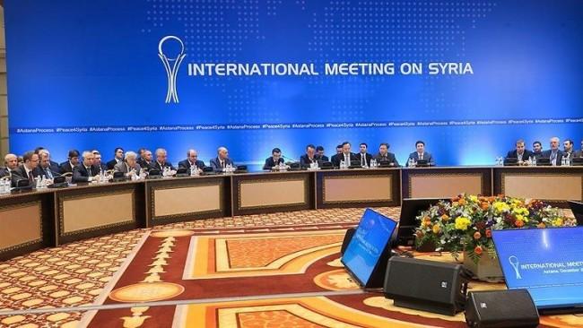 Astana toplantısının sonucu: ABD'ye YPG tavrı