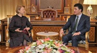 Neçirvan Barzani, Britanyalı heyeti ağırladı