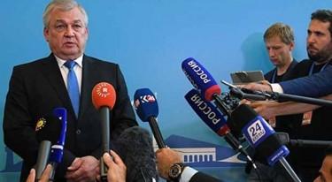 Rusya'nın Suriye Temsilcisi: Türkiye güvence verdi