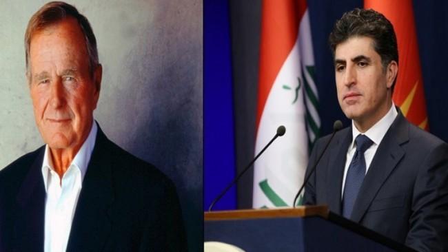 Başbakan: Kürdistan halkı Bush'a minnettar