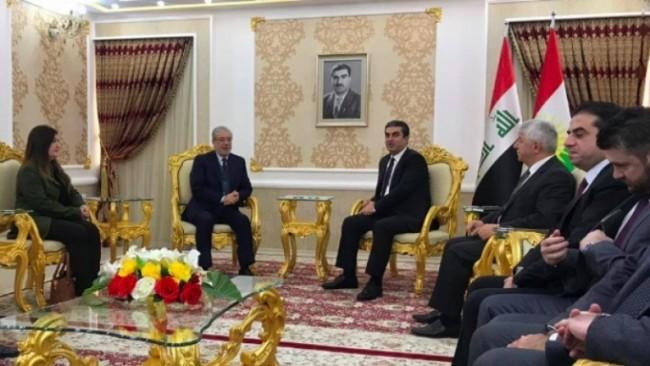 Haddad: Kürdistan'ın bütçedeki payı yükseltilecek