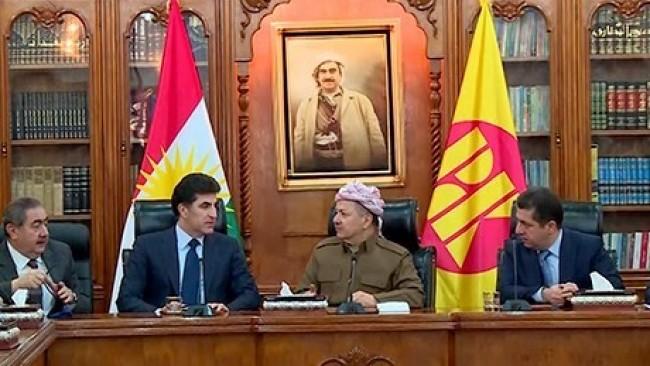 KDP'de kritik gün.. Son sözü Başkan Barzani söyleyecek