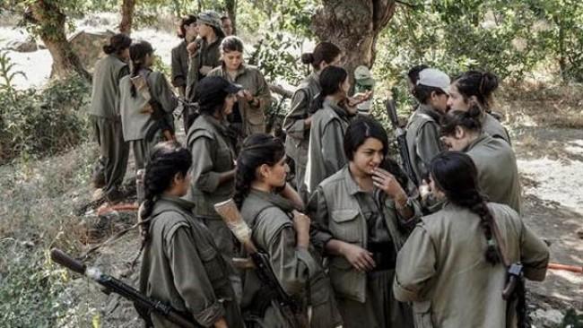 PKK'li kadın gerillalar, Kanada'nın resmi kanalında