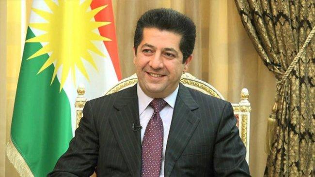 Uluslararası gençlik örgütünden Mesrur Barzani'ye tebrik