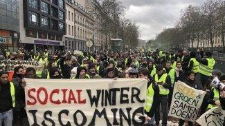 'Sarı Yelekliler' Protestosu Hollanda ve Belçika'ya da sıçradı