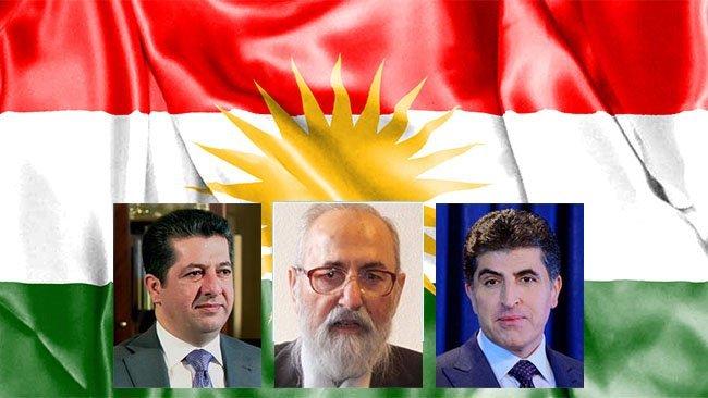 Ezidi liderden Neçirvan Barzani ve Mesrur Barzani'ye kutlama