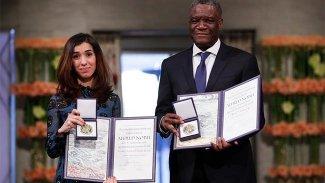 Nobel ödülünü alan Nadia Murad'dan Kürdistan yönetimine teşekkür