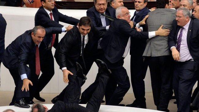 TBMM'de 'HDP' kavgası