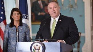 ABD'den BM Güvenlik Konseyi'ne İran Çağrısı